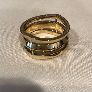 New Michael Kors Goldtone ring